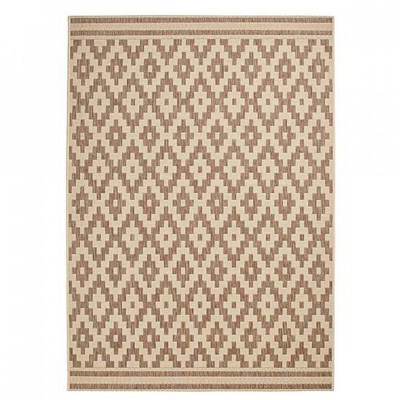 Brown cottage carpet