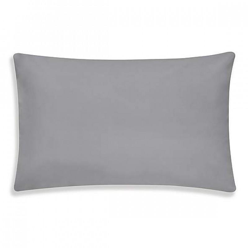 Plain Pigeon Grey Housewife Pillowcases