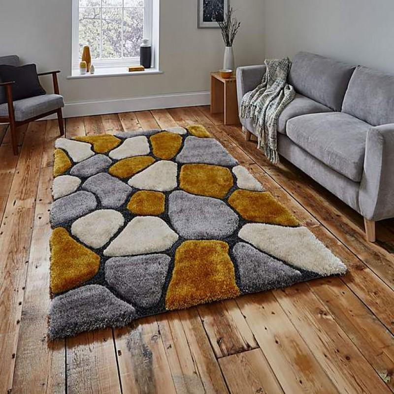 Grey and yellow NH5858 carpet