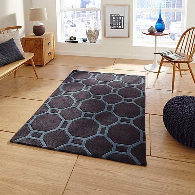 4338 Charcoal Blue Carpet