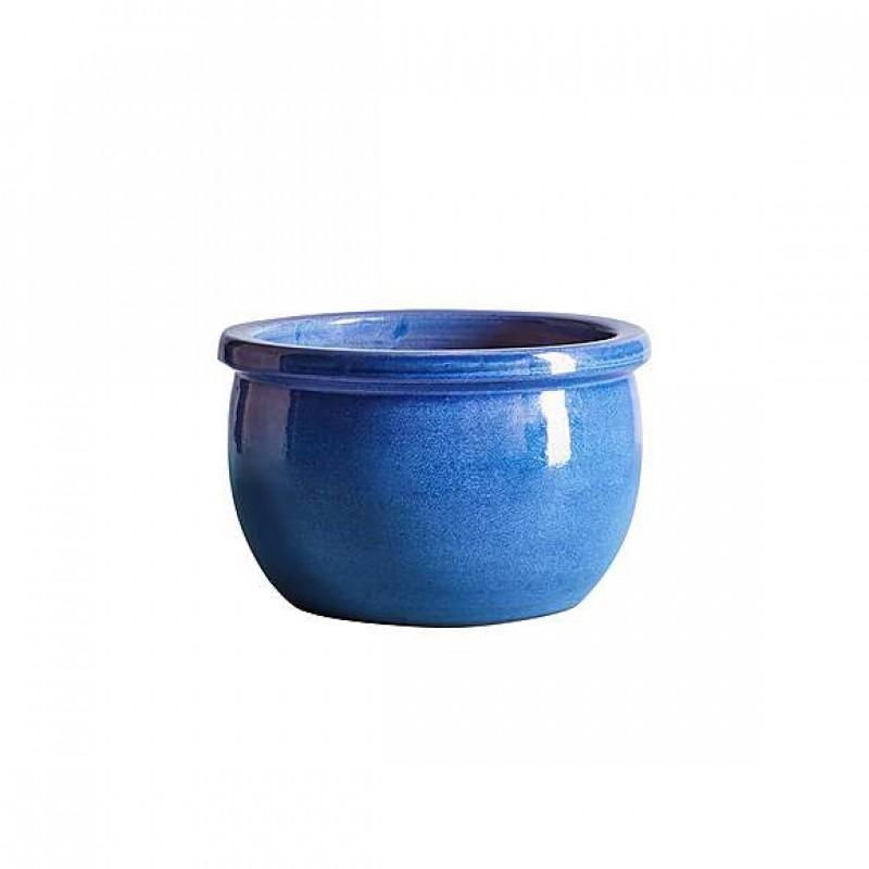 Small Bavarian blue planters