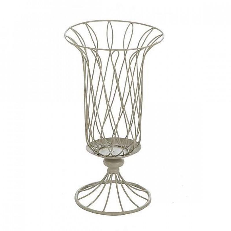 barbed wire flowerpot