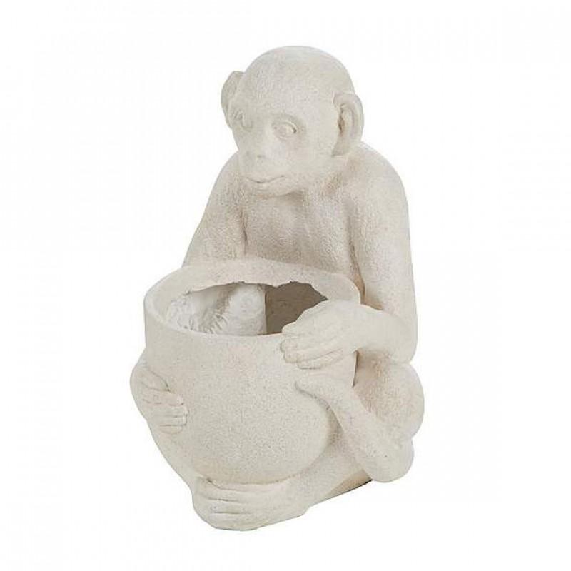 Resin Monkey Flower Pot