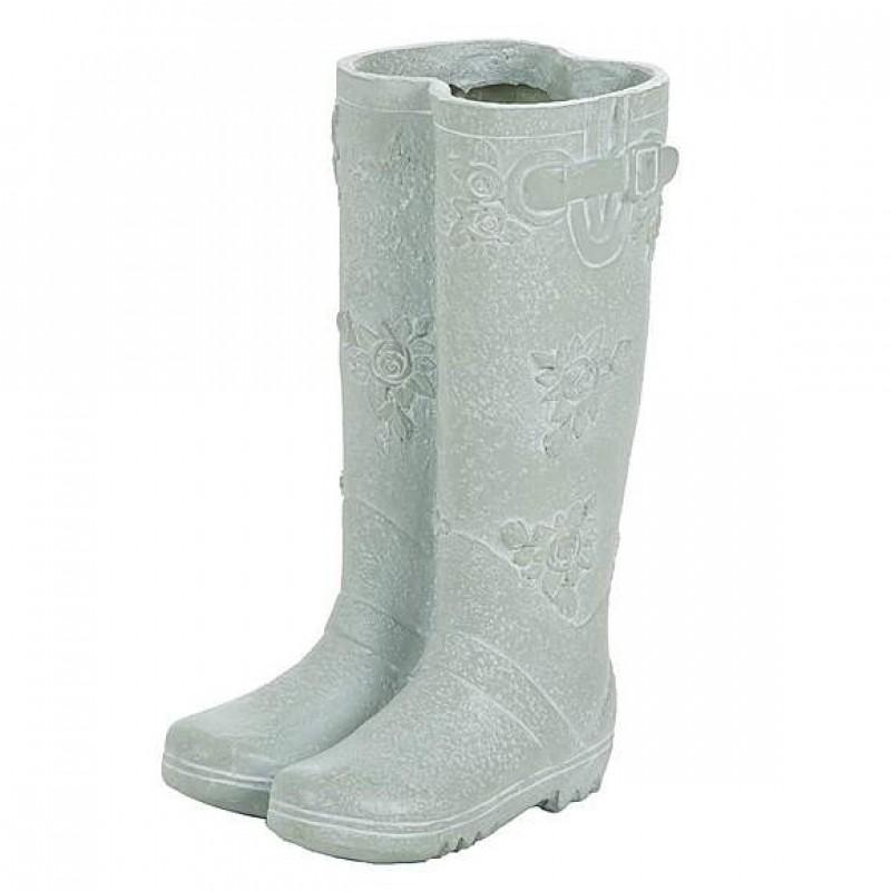 Resin Boots Flower Pot